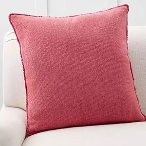 Pottery Barn Willa Fringe Pillow Cover 22 Inch